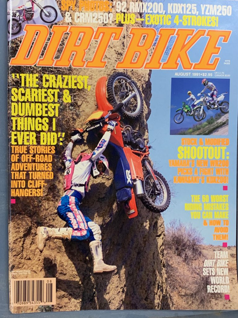 Dirt Bike Magazine Cover